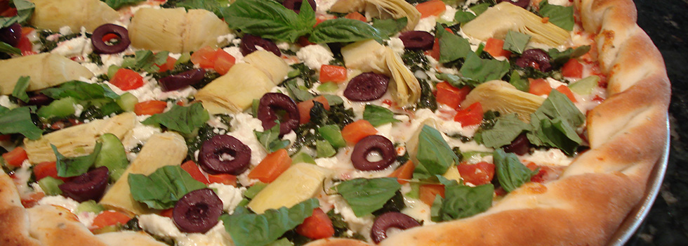 Healthy Gourmet Pizza